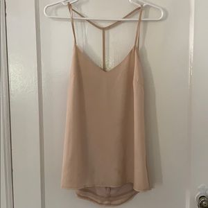 Tobi Tops - Tan Tobi backless tank top